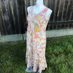 Young Hawaii Vintage Tropical Dress